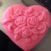 แม่พิมพ์รูปหัวใจดอกไม้ 70g