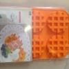 แม่พิมพ์ รูป waffle 6 ช่อง 7.5x2cm