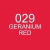 ปากกาพู่กัน ZIG CLEAN COLOR Real Brush - 029 Geranium Red