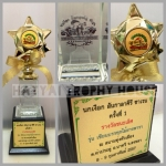 CP_STAR (Gold) ถ้วยรางวัลคริสตัลดาว