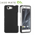 Sony Xperia Z3 Compact - Case Mate Tough Dual Layer - Black Case