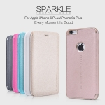 เคสฝาพับ iPhone 6 Plus ของ Nillkin Sparkle Leather Case