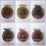MEDAL เหรียญทอง, เงิน, ทองแดงรมดำ