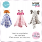 ผ้ากอด - Hudson Baby Velboa Security Blanket