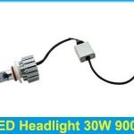 ไฟหน้า LED ขั้ว HB3 Cree 3 ดวง 30W