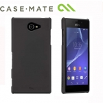 Sony Xperia M2 - Case Mate Barely There - Black Case