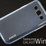 เคสยาง Samsung Galaxy Win ของ Joolzz Crystal Slim - สีใส