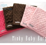 ผ้าพาดบ่า Minky Baby Burp Cloth