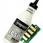 ชุดผงหมึกพร้อมชิป (Refill Toner) For EPSON C13S050614 (Black)