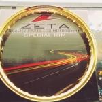 ล้อมิเนียม ZETA งาน5ดาว 140-17 สีทองอ่อน