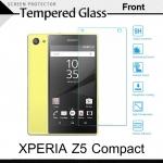 กระจกนิรภัย Xperia Z5 Compact (หน้า) Tempered Glass Screen Protector Protective