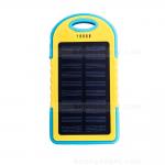 แบตเตอรี่สำรอง OOP 50000mAh ไฟฉาย LED Solar Charge - Yellow สีเหลือง