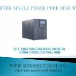 Off-grid pure sine wave inverter 6000W/192VDC/220VAC/50Hz