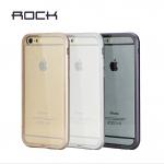 เคส iPhone 6 ของ ROCK Infinite Series Acrylic + Aluminum Matal Bumper Case