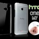 เคสยาง HTC One M7 ของ Jzzl Air Ultra Thin Flexible Case