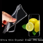 เคสยาง Xperia M4 Aqua - Ultra thin Crystal Clear Soft TPU Case - สีใส
