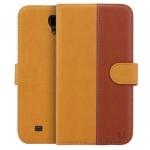 USAMS U- Clothes Brown Cover Case For Samsung Galaxy Mega 6.3