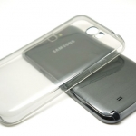Protective Case For Samsung Galaxy Note 2 เทา