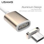 USAMS Metal Magnetic Data Cable - Micro USB