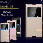 เคสฝาพับ Xperia Z5 ของ USAMS Muge Series