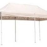 เต็นท์พับได้ พับเก็บได้ ขนาดกว้าง2เมตร ยาว3เมตร(มีผ้าใบคลุมด้านข้างขายต่างหาก)