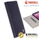 เคสฝาพับ Xperia X/X perfprmance ของ Krusell Malmo FolioCase