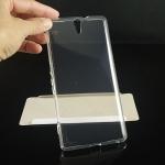 เคสยาง Xperia C5 Ultra แบบ Ultra thin Crystal Clear Soft TPU Case - สีใส