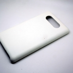 Jzzs Leather White Case For Nokia Lumia 820
