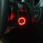 ไฟรูกุญแจ Honda ทุกรุ่น สีแดง