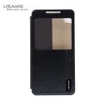เคสฝาพับ HTC Desire 816 ของ USAMS Merry Series Case - สีดำ
