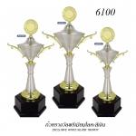 WS-6100 ถ้วยรางวัล White Silver