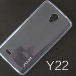 เคสยาง Vivo Y22 ของ Joolzz Crystal Ultra Slim - สีใส