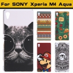 เคส Xperia M4 Aqua แบบ Ultra Thin Painted Fashion Case