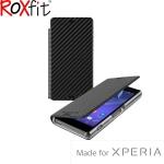 Sony Xperia Z3 Compact Roxfit Slimline Book Case - Black