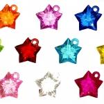 ตัวห้อยรูปดาวสดใส 10 ชิ้น (Star)