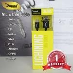 สายชาร์จ Dapad - Micro USB Cable สีดำ