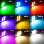 สีแสงไฟของ SMD