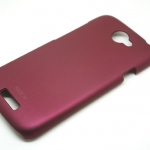 Rock Case For HTC One S สีแดงเลือดหมู