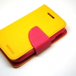 Goospery Case For Samsung Galaxy Y สีเหลือง
