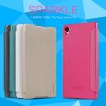 เคสฝาพับ Xperia Z5 ของ Nillkin Sparkle Leather Case