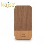 เคสฝาพับลายไม้ iPhone 6 Plus ของ Kajsa Outdoor Collection Flip case - ลาย Caramel