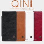 เคสฝาพับ Xperia X / X Performance ของ Nillkin Qin Leather Case