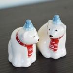 ขวดเกลือพริกไทยเซรามิค หมีขั้วโลก Polar Bear