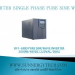 Off-grid pure sine wave inverter 3000W/48VDC/220VAC/50Hz