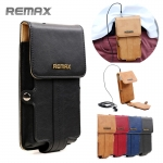 กระเป๋าใส่มือถือ 4.5 นิ้ว ของ Remax Pedestrian Leather Case