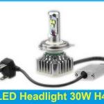 ไฟหน้า LED ขั้ว H4 Cree 3 ดวง 30W