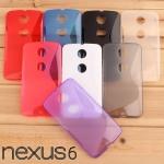 เคสยาง Nexus 6 ของ S-Line Wave Gel TPU Case