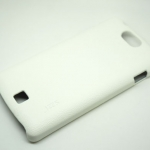 Jzzs Leather White Case For Oppo Germini