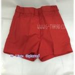 กางเกงนักเรียนอนุบาล สีแดง