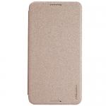 เคส HTC Desire 816 Nillkin Sparkle Case - แบบฝาพับสีทอง